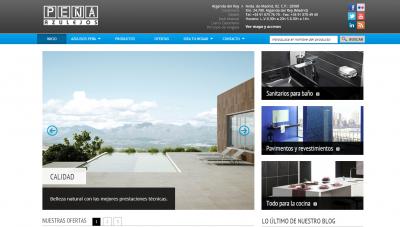 Azulejos Peña estrena sitio web