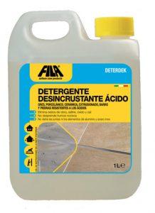 Deterdek - Detergente desincrustante ácido
