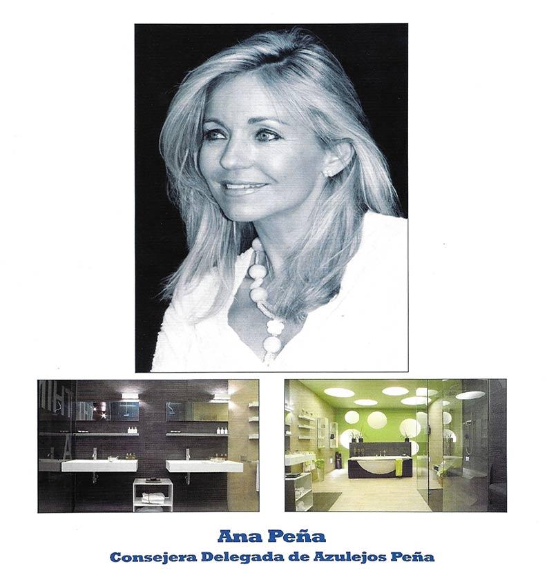 Ana Peña – Consejera Delegada de Azulejos Peña