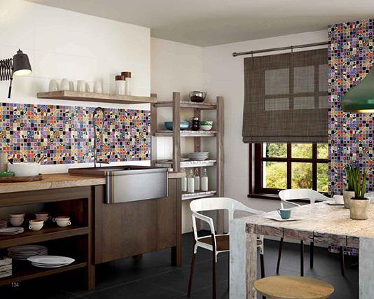 mosaico revestimiento decorativo