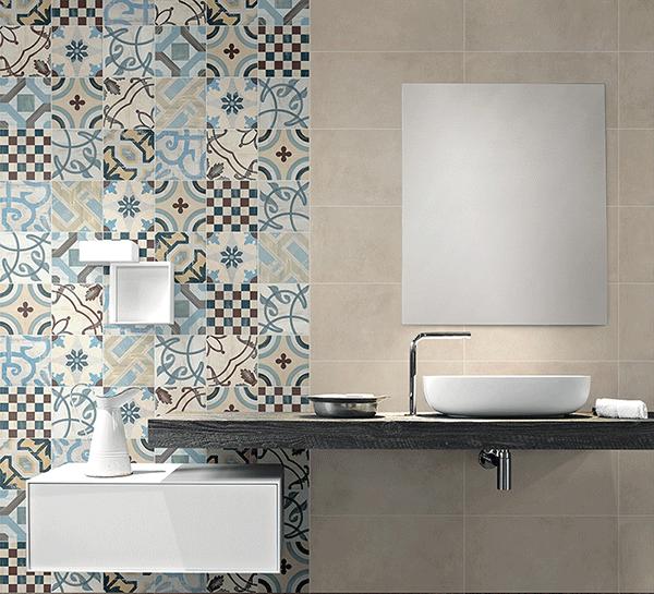 azulejo hiraulico para el baño