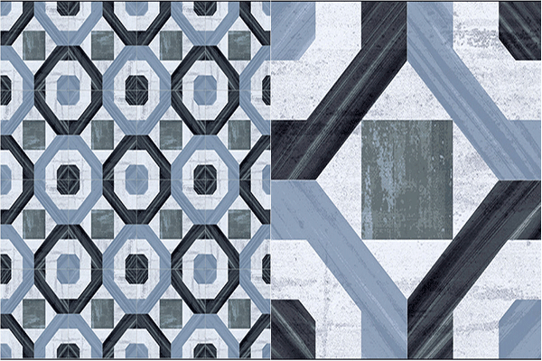 Decoraci n con azulejos hidr ulicos un toque vintage en for Muestras de azulejos
