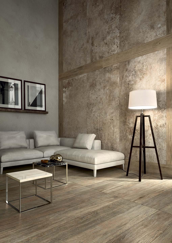 La elegancia de un material que imita a la piedra natural azulejos pe a - Decoracion de suelos interiores ...