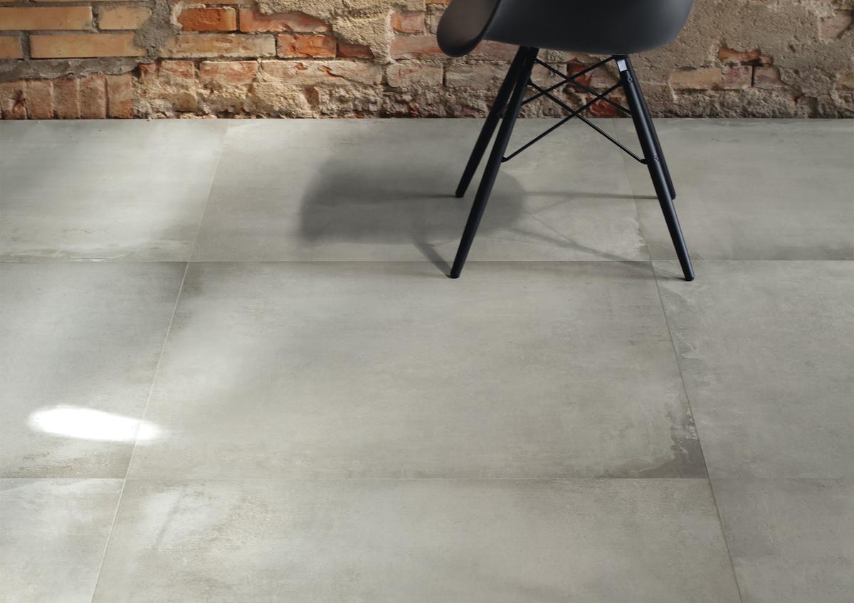 cer mica de gran formato efecto cemento azulejos pe a