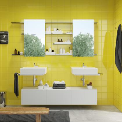 Tendencia y creatividad para el baño