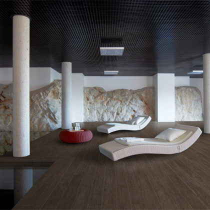 material porcelánico efecto madera