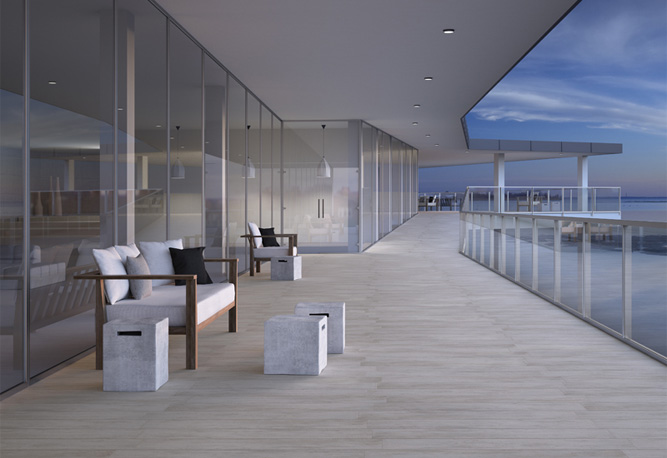 Suelo porcel nico para ambientes de exterior azulejos pe a - Suelos de exterior imitacion madera ...