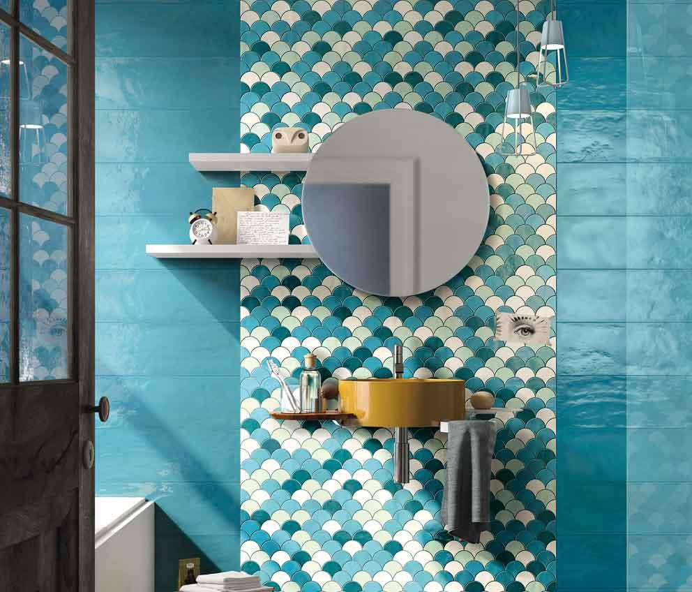 Cer mica para el ba o azulejos pe a for Set para bano de ceramica