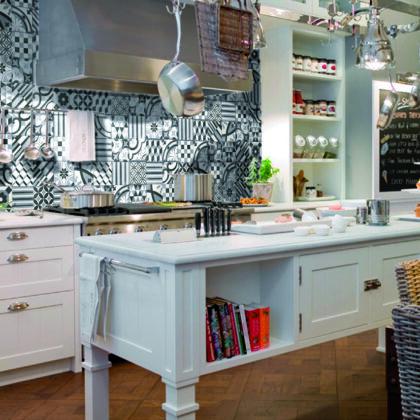 azulejos hidrulicos para la cocina