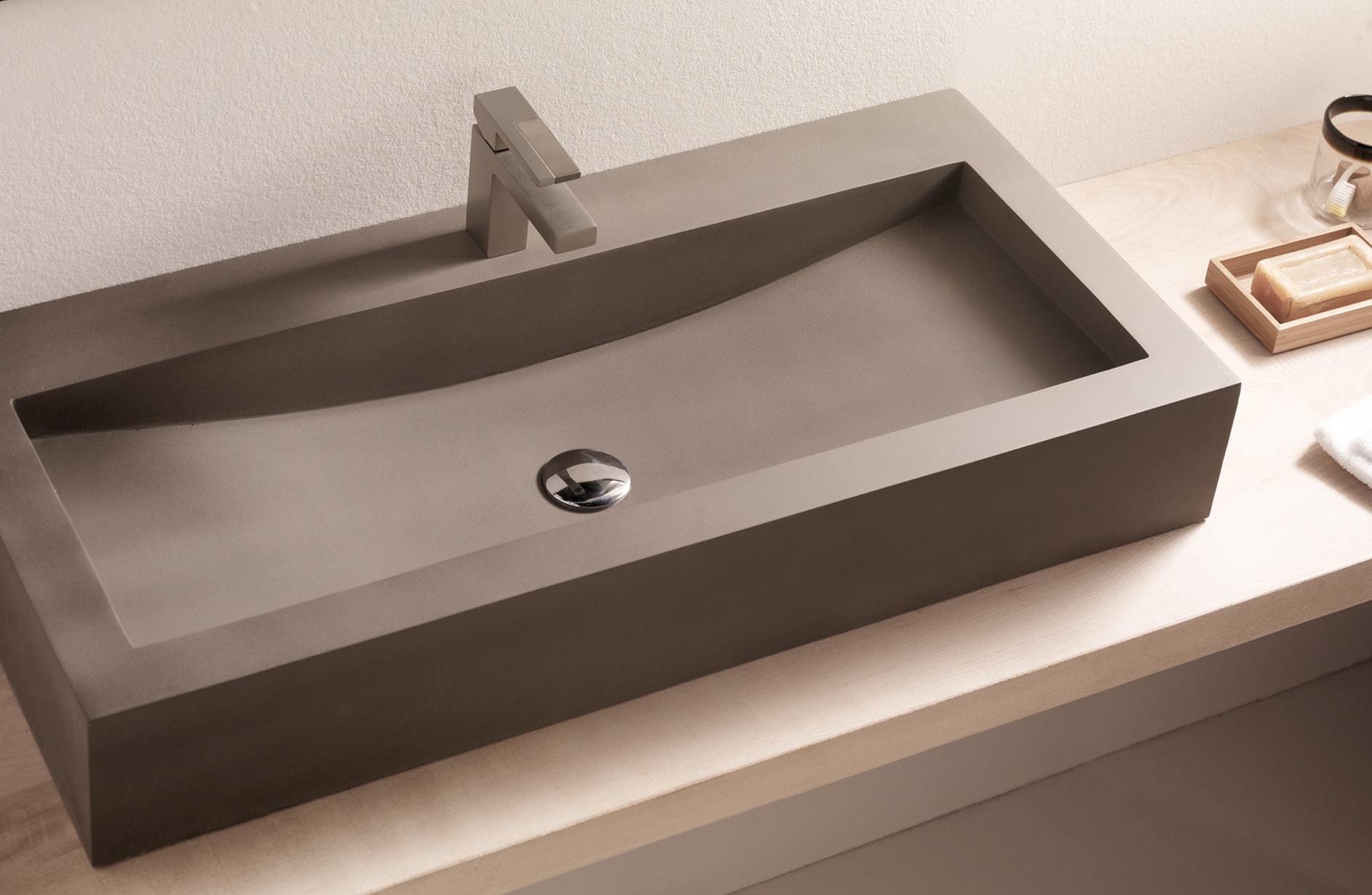 Lavabo sobre encimera azulejos pe a for Encimeras de bano para lavabo