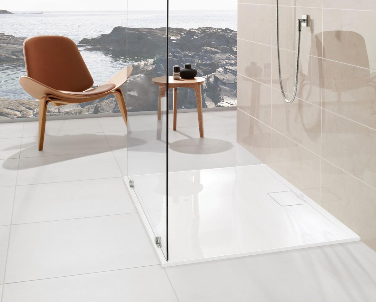 Soluciones de ducha para hoteles azulejos pe a - Plato ducha antideslizante ...