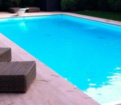 piscinas de obra azulejos peña