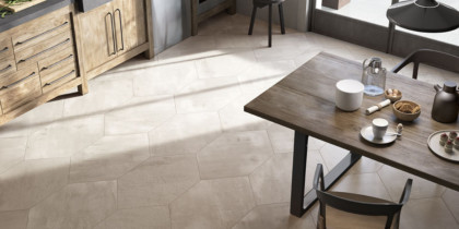 pavimento porcelanico para la cocina