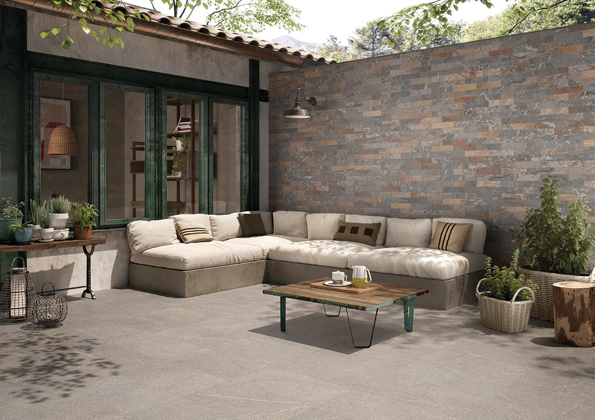 Pavimento para exteriores azulejos pe a - Revestimiento para exterior ...