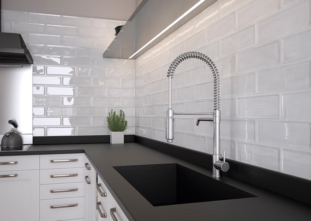 5 revestimientos cer micos para tu cocina azulejos pe a - Azulejos cocina ...