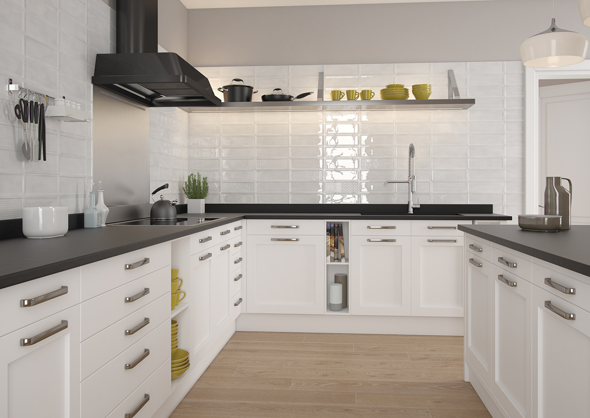 5 revestimientos cer micos para tu cocina azulejos pe a - Azulejos para cocinas modernas ...