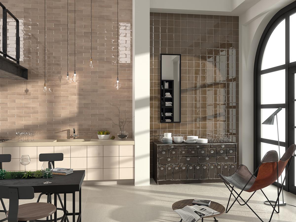 5 revestimientos cer micos para tu cocina azulejos pe a for Ceramica para revestir paredes