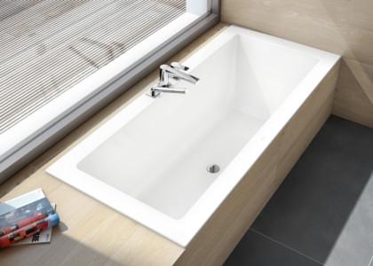 bañera para espacios reducido