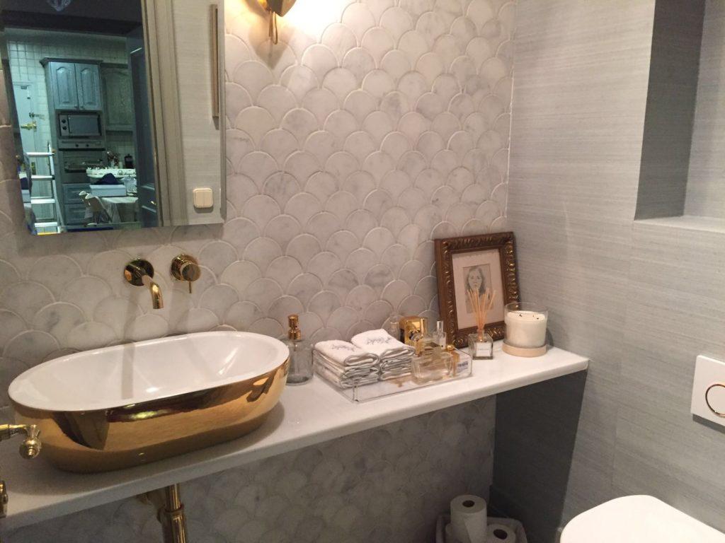 revestimiento de baño
