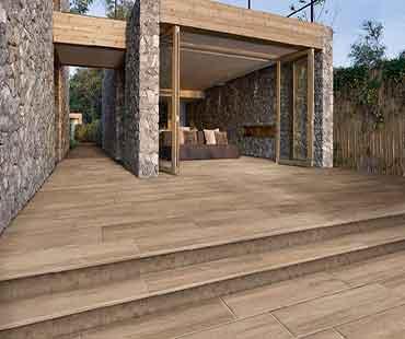 pavimento madera porcelánica