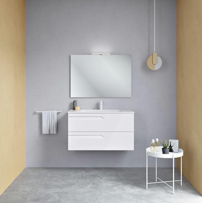 mueble de baño con lavabo modelo vitale