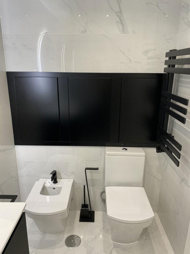 reforma baño artic white